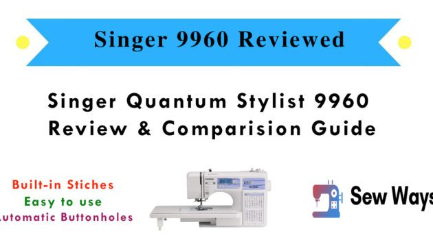 singer 9960 sewing machine reviews