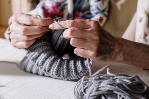 basic stitches in knitting